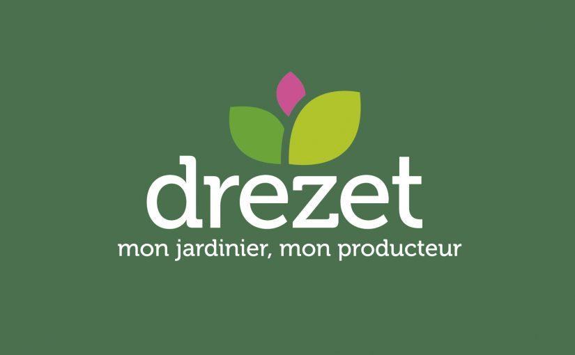 Identité Visuelle, Carte de visite Jardinerie Drezet