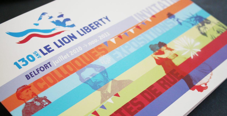 130 ans du Lion de Belfort : Lion Liberty