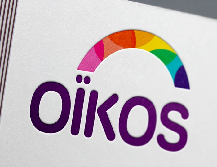 Logo pour l'association Oïkos