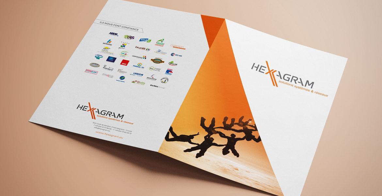 Une nouvelle plaquette pour Hexagram !