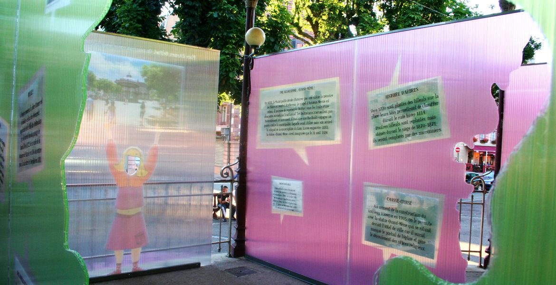 Exposition kiosque