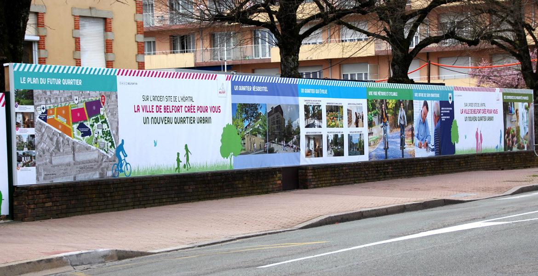Un nouveau quartier urbain à Belfort !