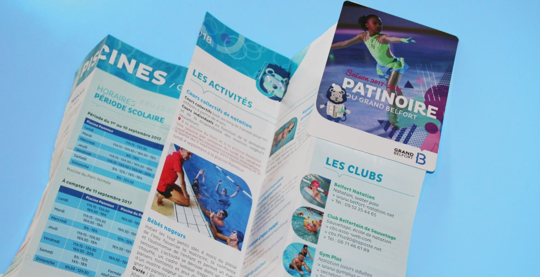 Programme piscines & patinoire – Grand Belfort