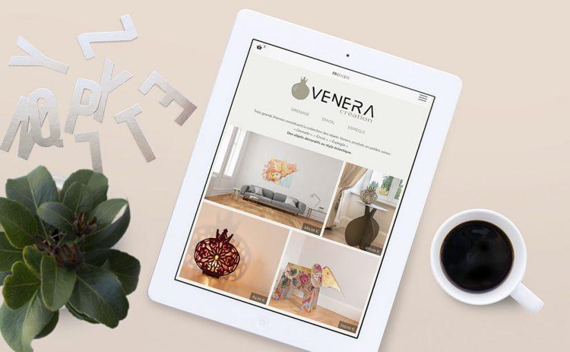 Maquette Mock-ups Site Web Mobile Vebera Création