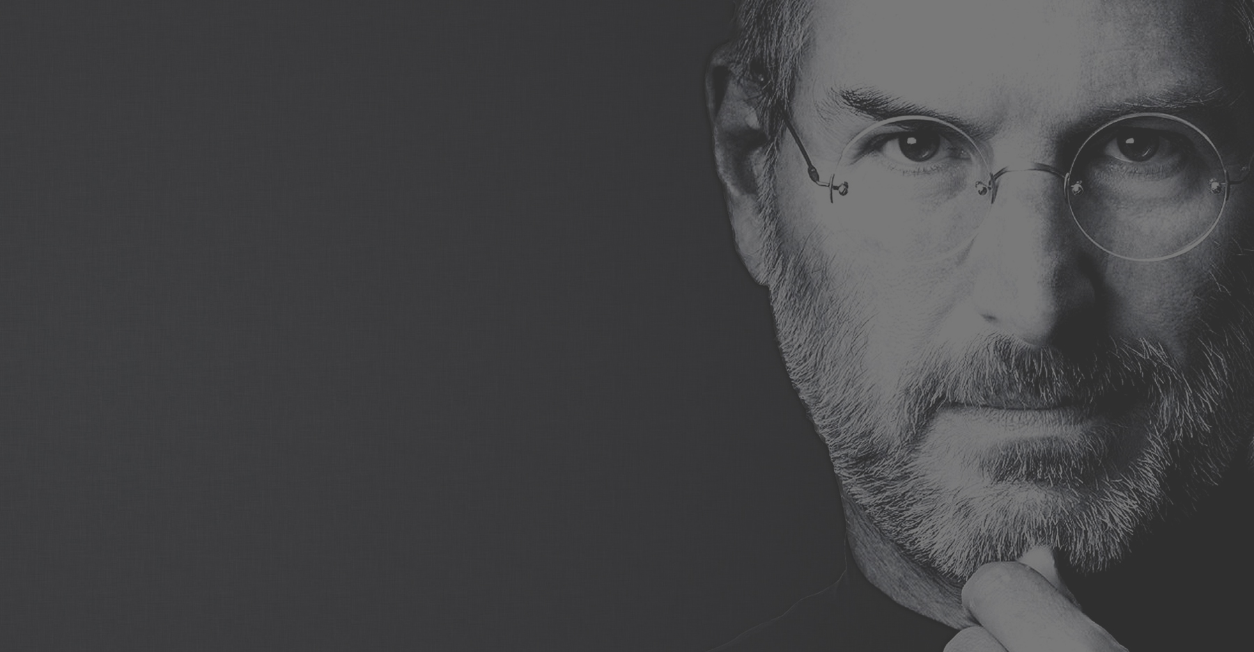 Visage Steve Jobs