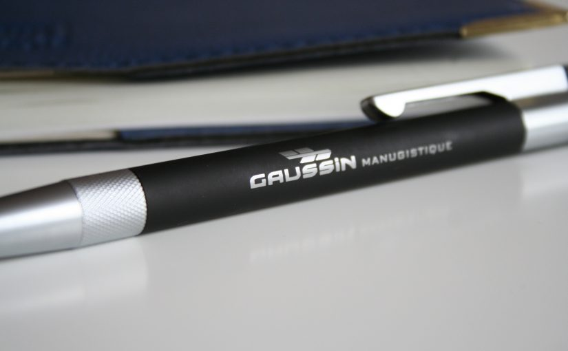 Stylo Objet promotionnel Gaussin Manugistique