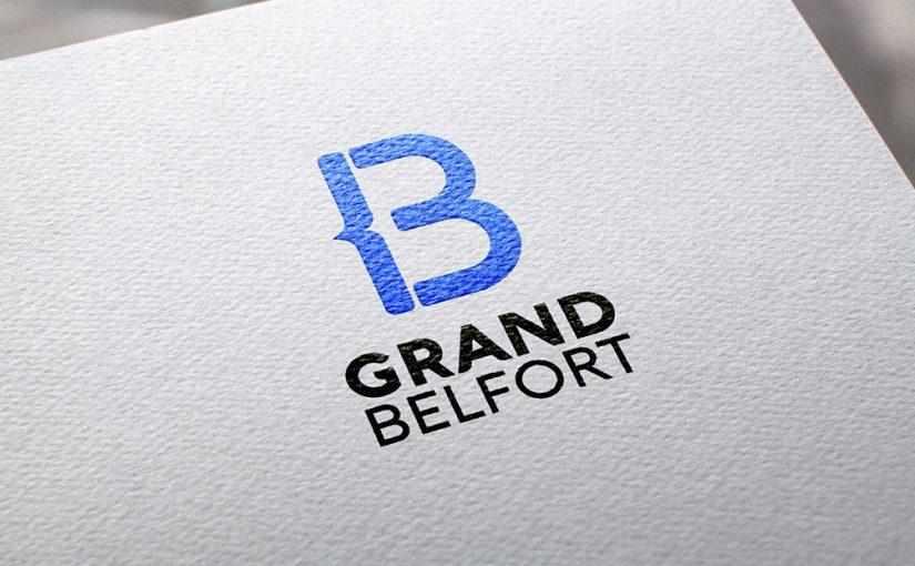 Logotype Identité Visuelle Nom Grand Belfort