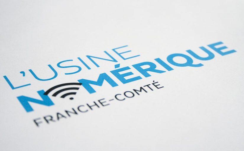 Logo Identité visuelle Numérica, l'Usine numérique