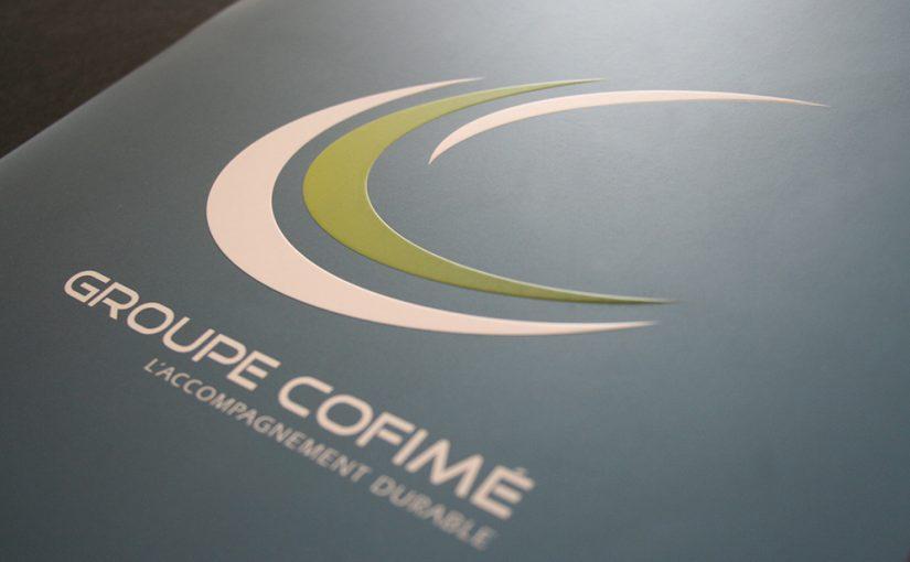 Identité visuelle Logotype Groupe Cofimé