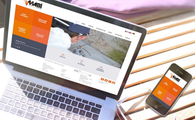 Maquette Site Web et Mobile Mabi
