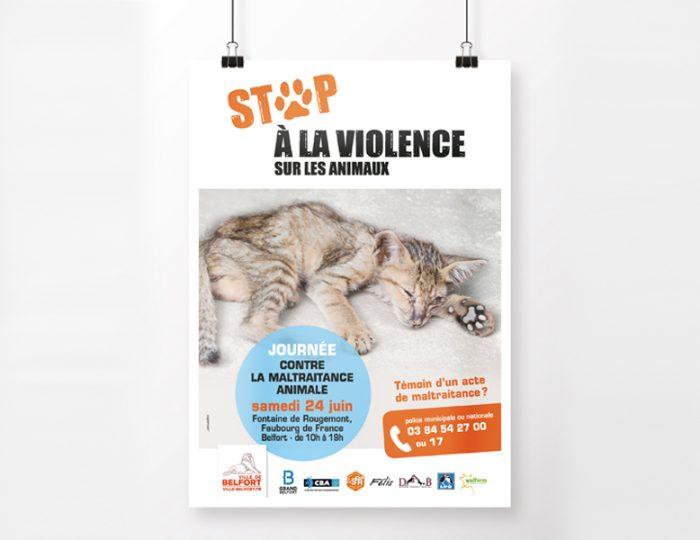 Belfort dit stop à la maltraitance animale !
