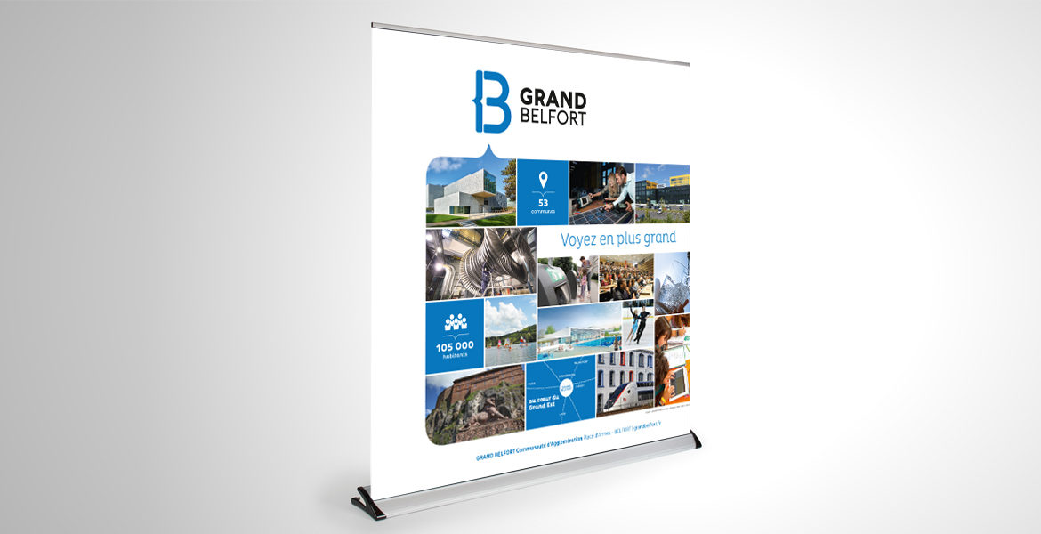 Un grand roll up pour le Grand Belfort !