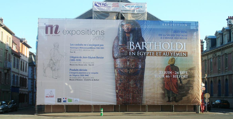 La plus grande bâche événementielle jamais réalisée à Belfort !