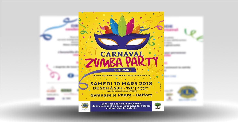 Par ici la Zumba Party !