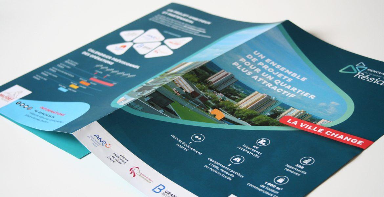 La Ville de Belfort communique sur le renouvellement urbain des Résidences