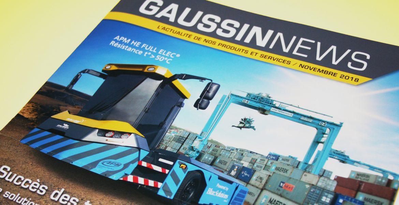 GAUSSIN – Une actualité innovante