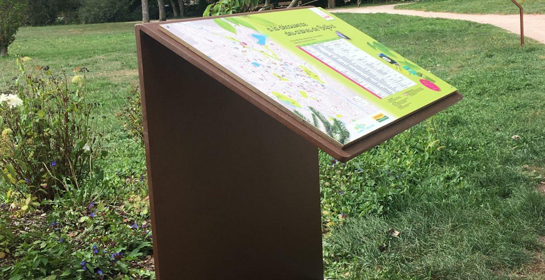 Nouvelle signalétique pour le parc F. Mitterrand – Belfort