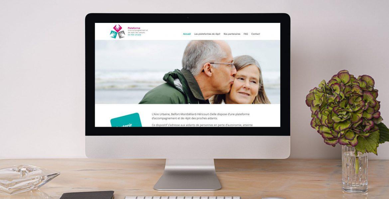 Création d'un site internet pour la Plateforme de Répit de L'Aire Urbaine
