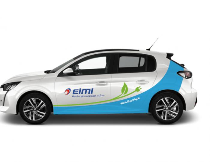 Covering sur les véhicules de EIMI