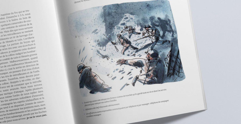 Les mémoires de Guerre<br>d'un diable bleu