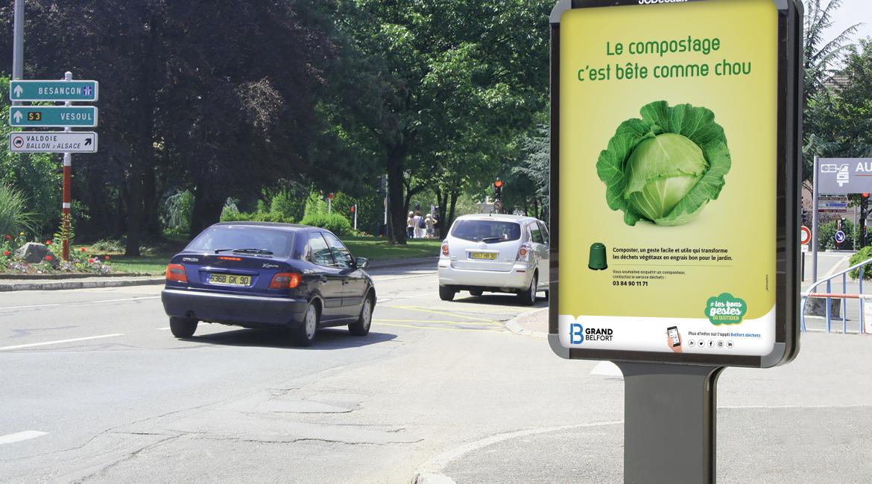 Le compostage, c'est bête comme chou !