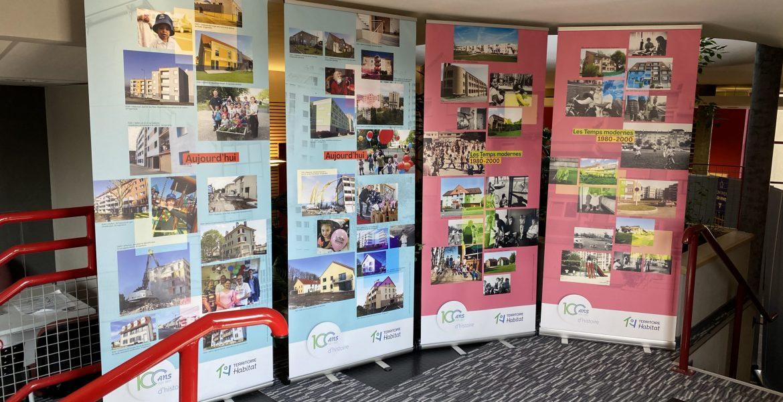 Territoire Habitat fête ses 100 ans et s'expose !!