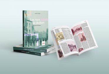 Les rues de Belfort, nouvel ouvrage d'édition de la Ville de Belfort